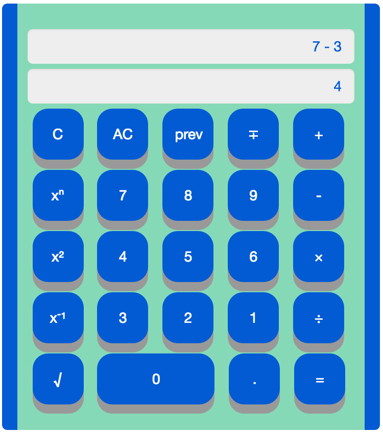 web calculator